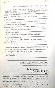 Sterbeurkunde Gustav Stange (Stadtarchiv Stuttgart, Sterbebuch Stgt.-Stammheim, via Recherche Wolfgang Kress)