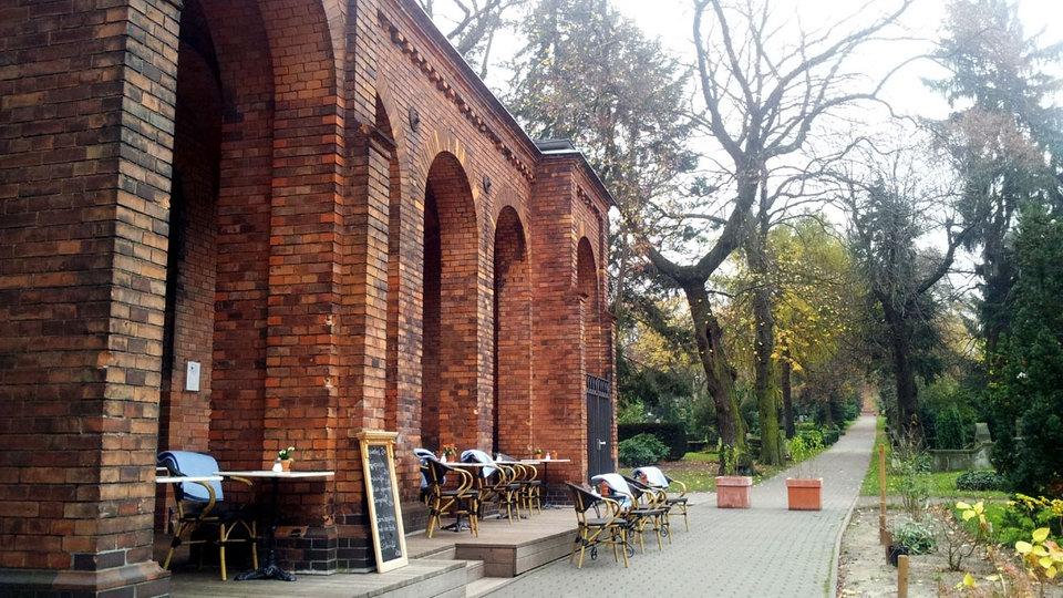 Cafe Strauss Friedhof Berlin