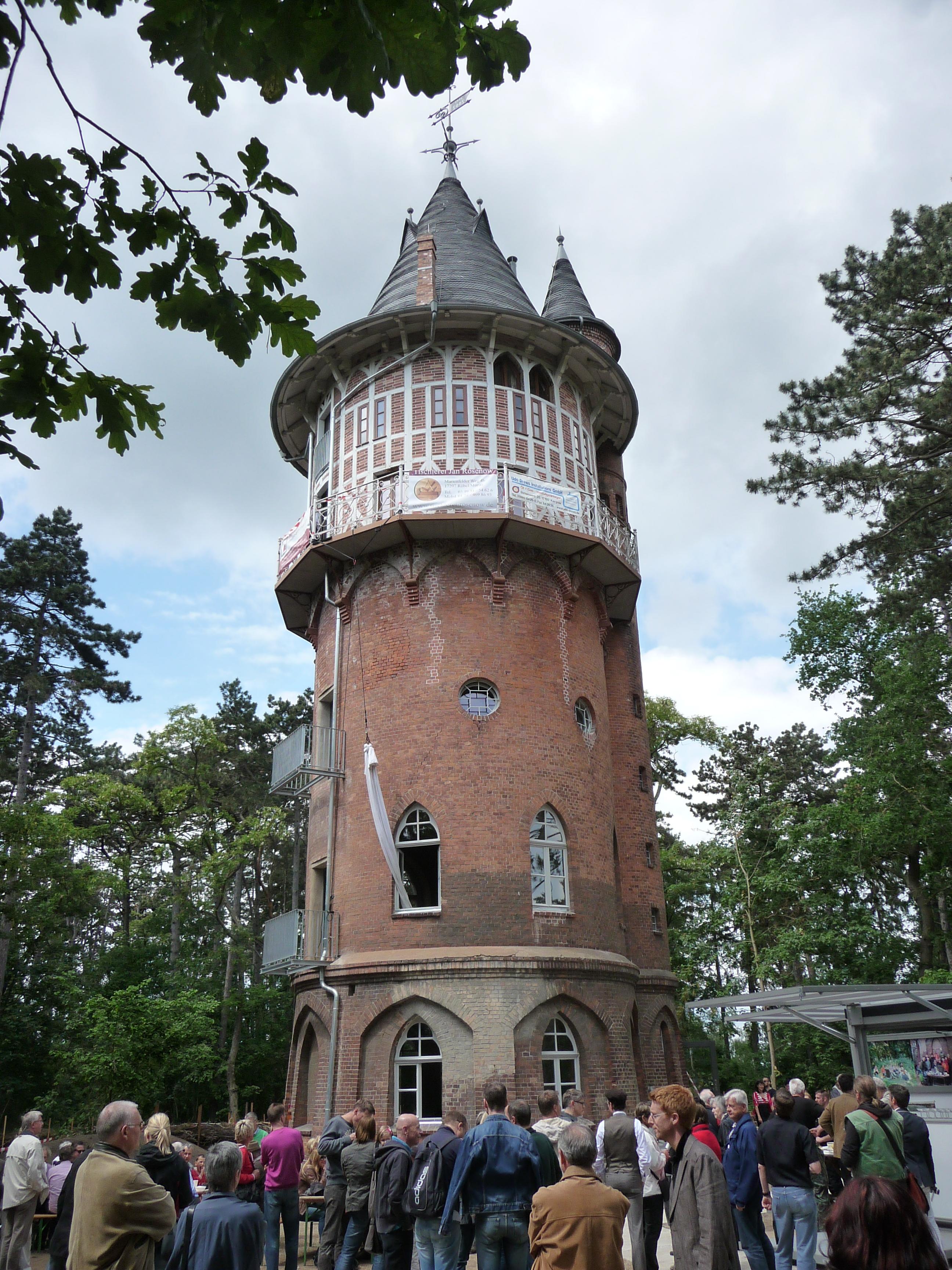 Wasserturm-Waren1